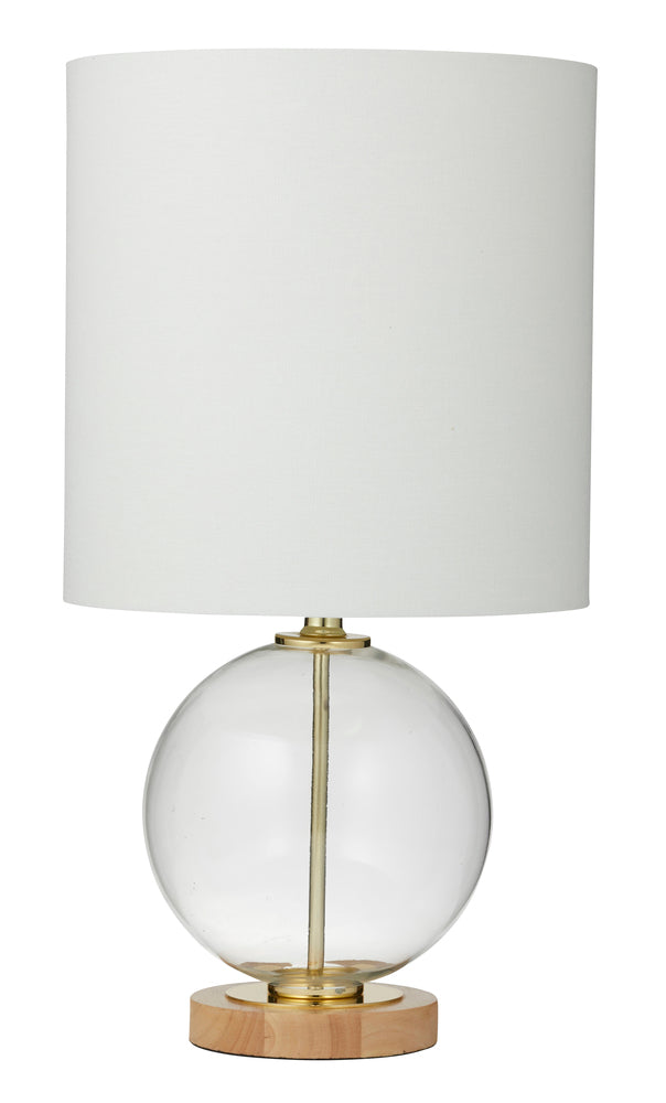 Winter Table Lamp Pair Gold