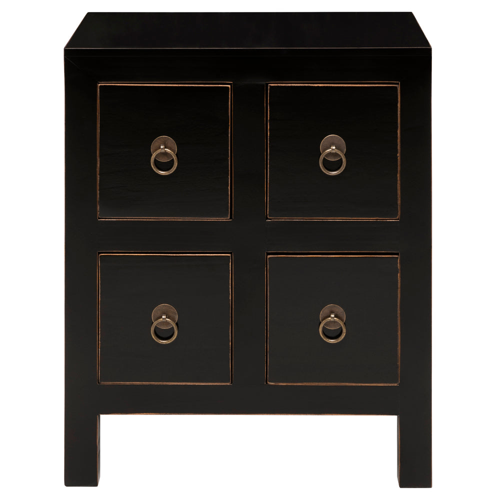 Cody Bedside Chest Black