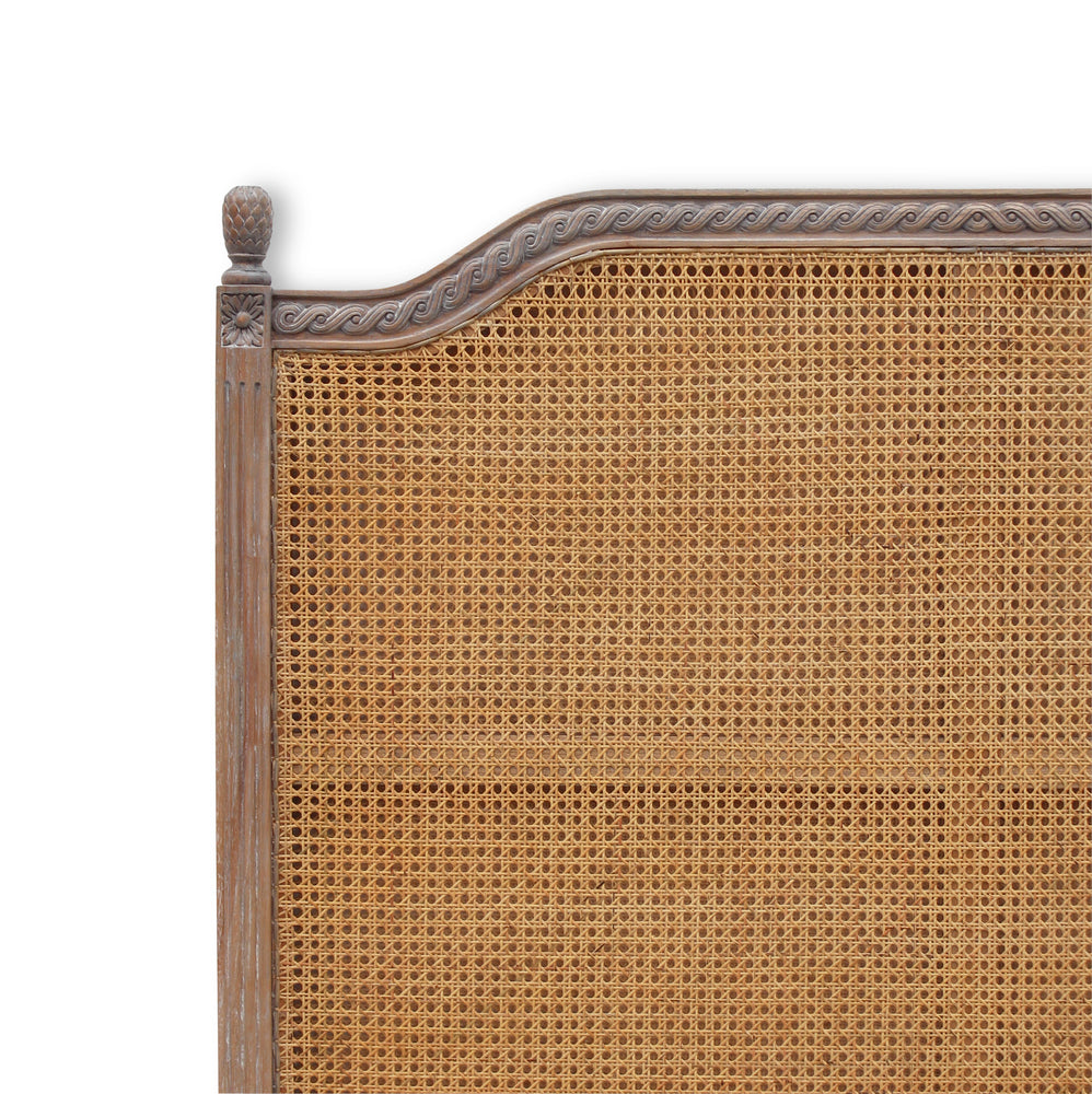 Marseille Headboard Rattan Queen