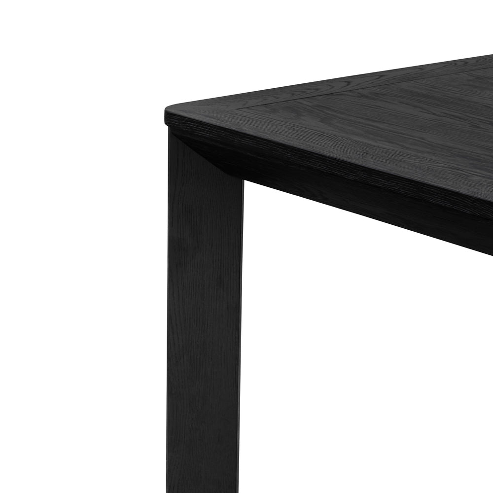 Elliot Oak Dining Table Black 300cm