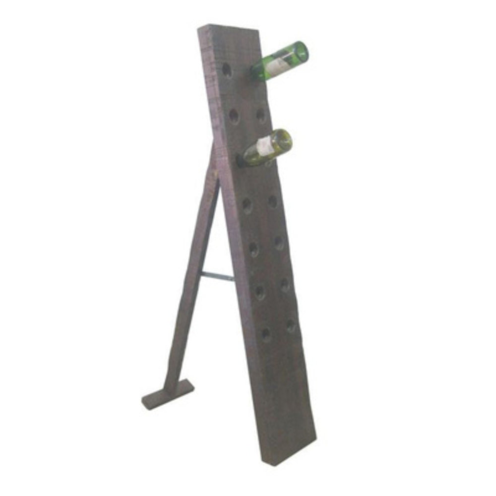 Napa Wine Rack Dark Walnut