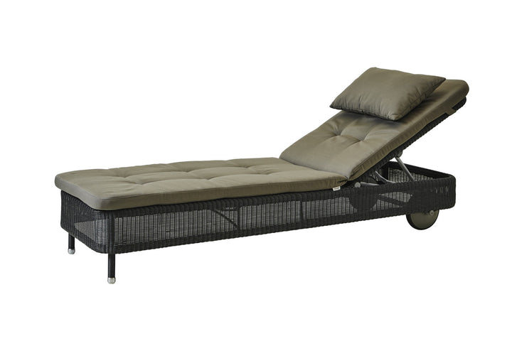 Presley Sunbed Graphite with Cushion Options