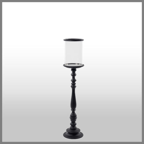 Candle Holder Black Large