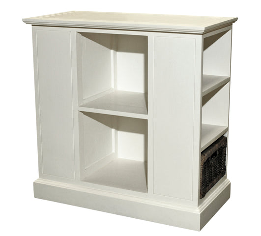 French White 3 Shelf Unit