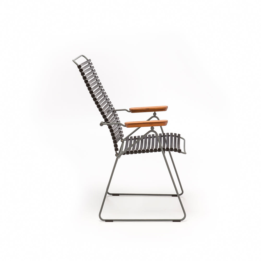 Click Position Outdoor Dining Chair Paprika
