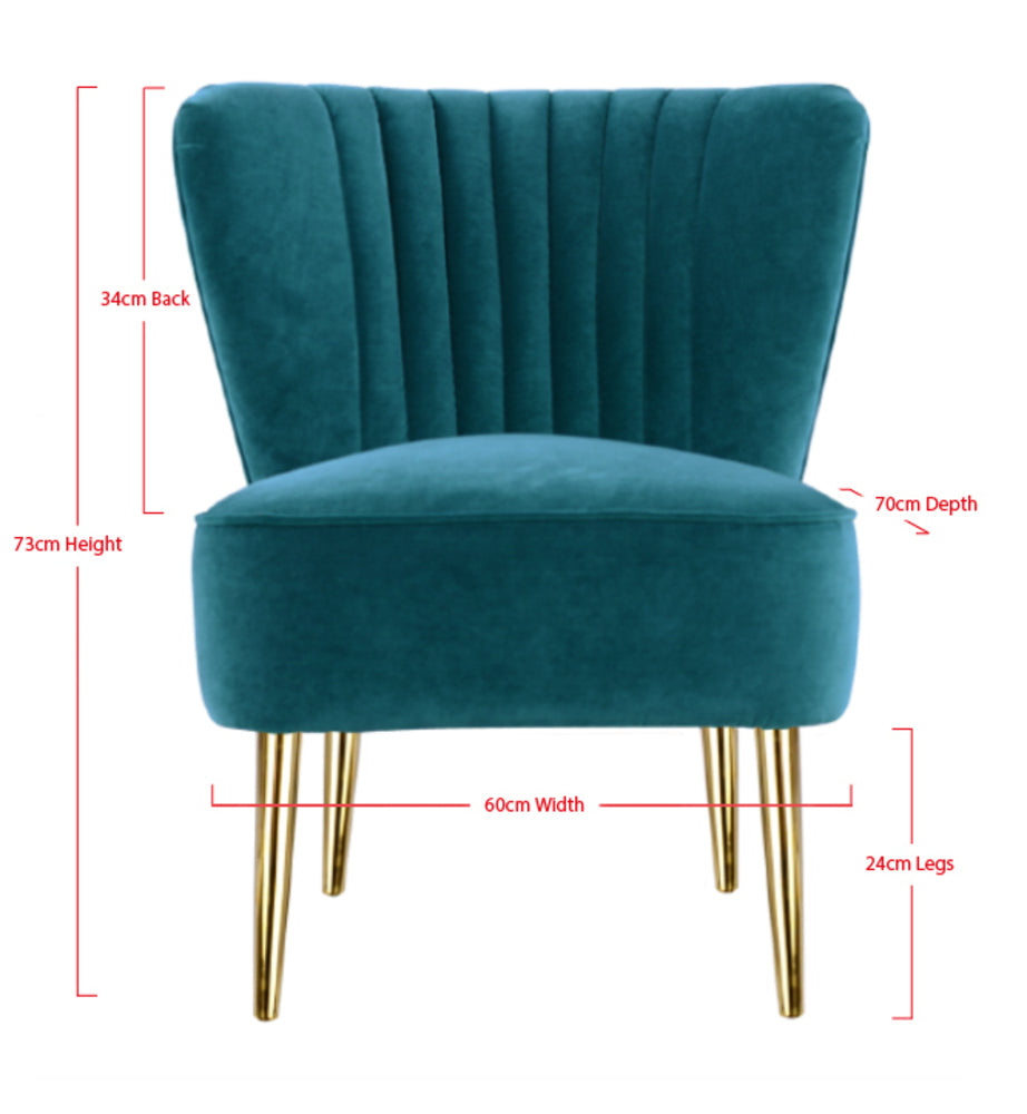 Etonnant ... Slipper Chair Peacock With Gold Metal Legs Limited Edition ...