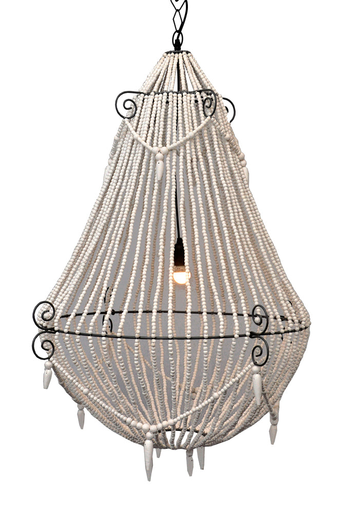 Marley Beaded Chandelier Large