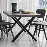 Montana Cross Leg Dining Table