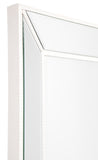 Zeta Wall Mirror White Large