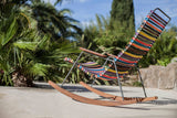 Click Outdoor Rocking Chair Petrol
