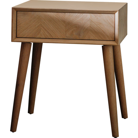 Ponti 1 Drawer Side Table
