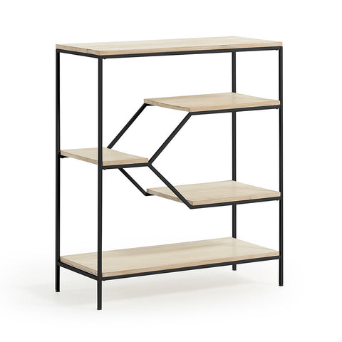 Preston Bookshelf Small White
