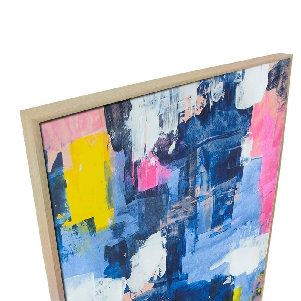 Boundless Canvas Painting with Floating Frame