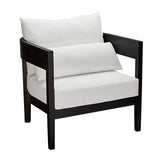 Bedarra Teak Occasional Chair Black