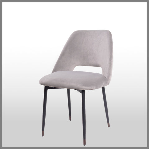 Germain Dining Chair Soft Grey
