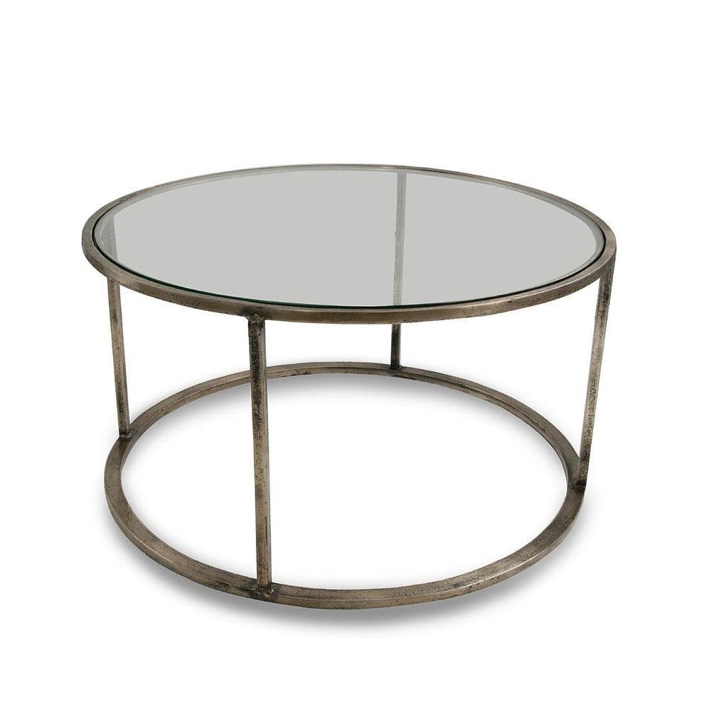Belmond Pewter Coffee Table Small