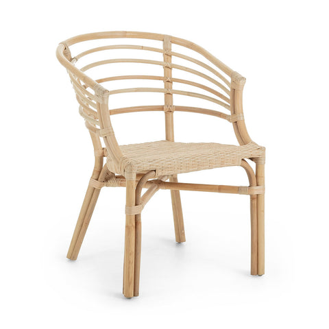 Carlotto Armchair Natural Rattan
