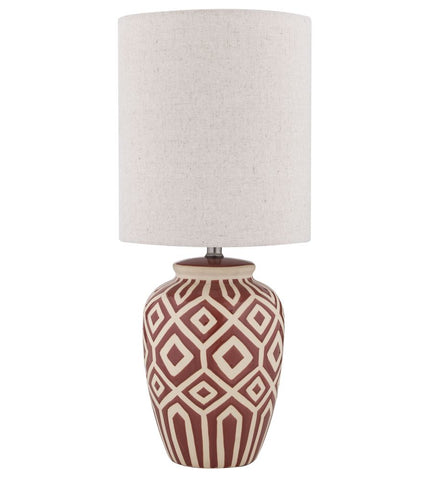 Casablanca Palm Tree Lamp Brown