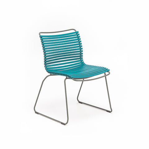 Click Position Outdoor Dining Chair Petrol