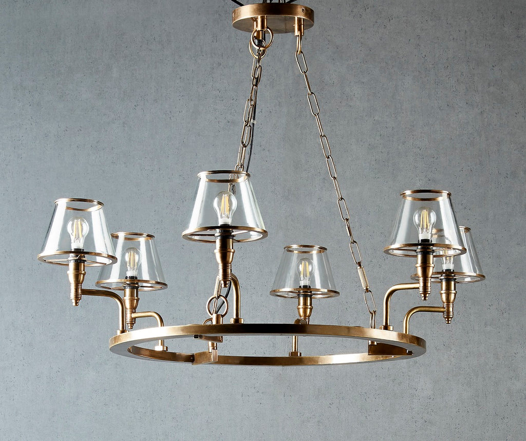 Ivy Brass Chandelier