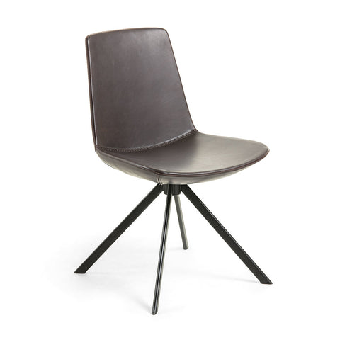Salvatore Dining Chair Dark Brown