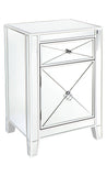 Apolo Bedside Table White