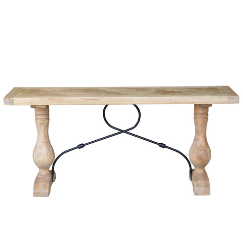 Cordoba Parquetry Console Table Natural