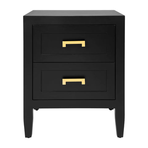 Harbour Bay Bedside Black Small