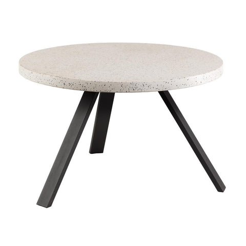 Masa Dining Table Stainless Steel Legs with Black Glass Top