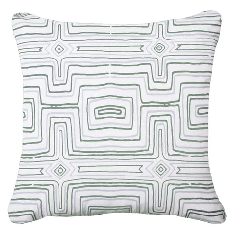 Outdoor Stripe Lumber Cushion Cloud