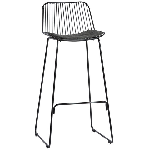 Blanche Indoor/Outdoor Stool Black