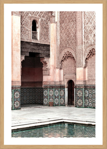 Moroccan Tower Photographic Print with Frame