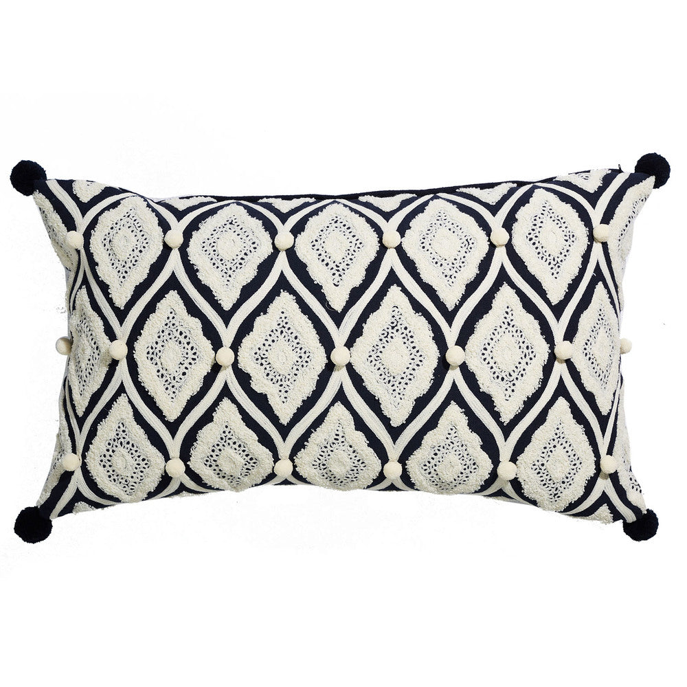Boho Coastal Bumble Cushion