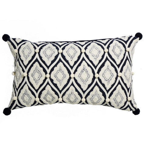 Boho Coastal Market Cushion