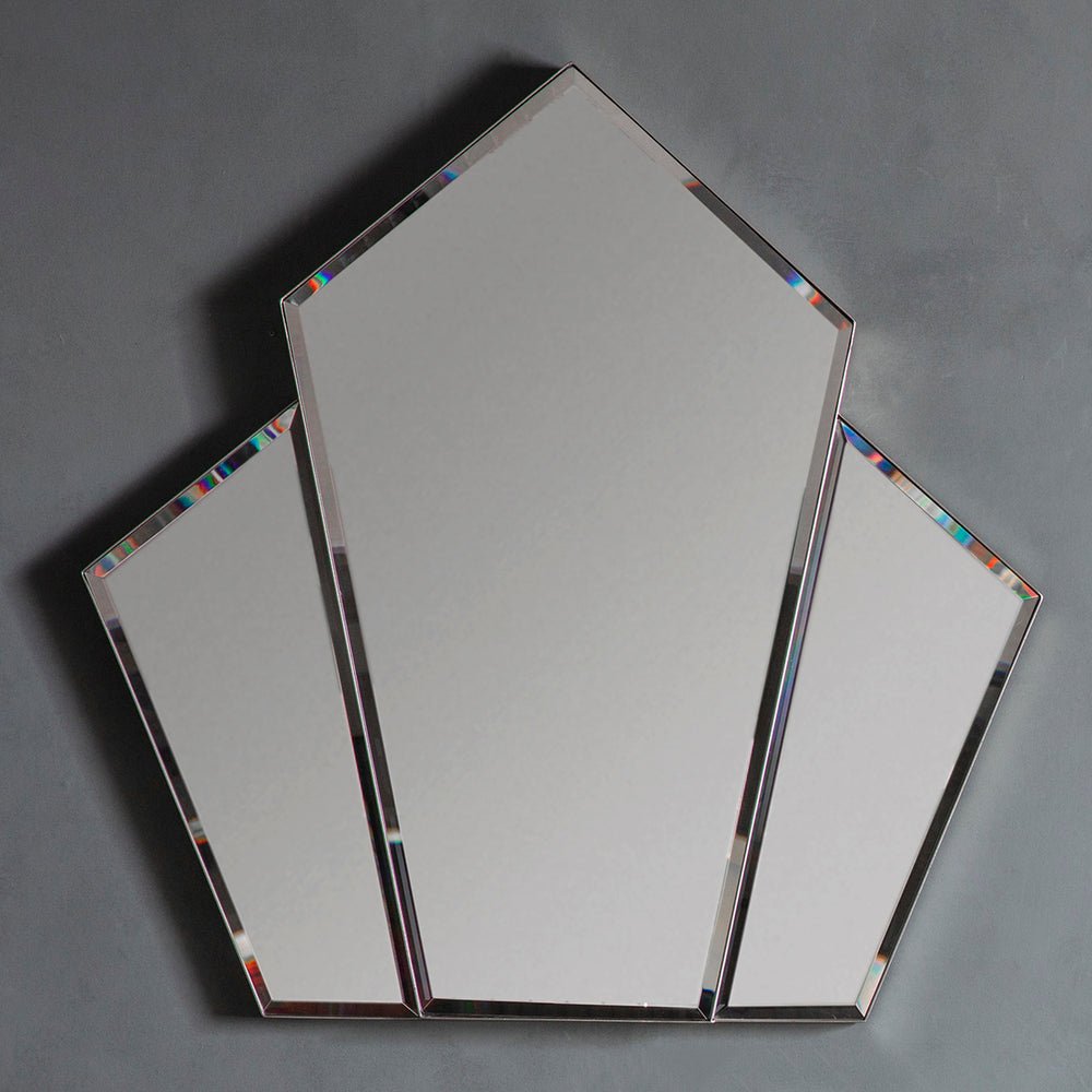 Verwood Mirror Silver