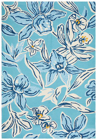 Aloha Indoor/Outdoor Rug Blue