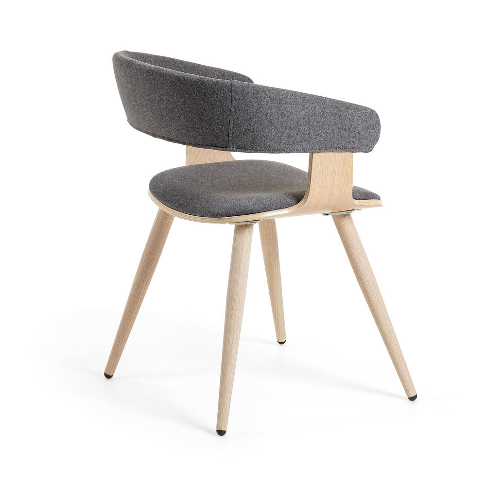 Erik Dining Chair Graphite