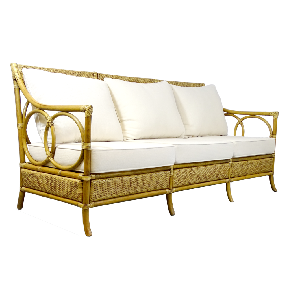 Sunrise Rattan Sofa Toffee