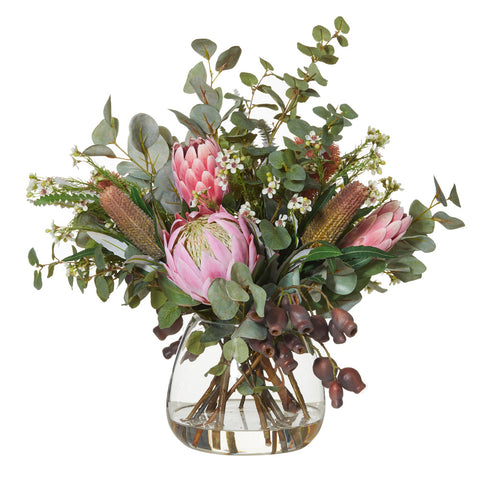 Native Mix in Garden Vase Pink