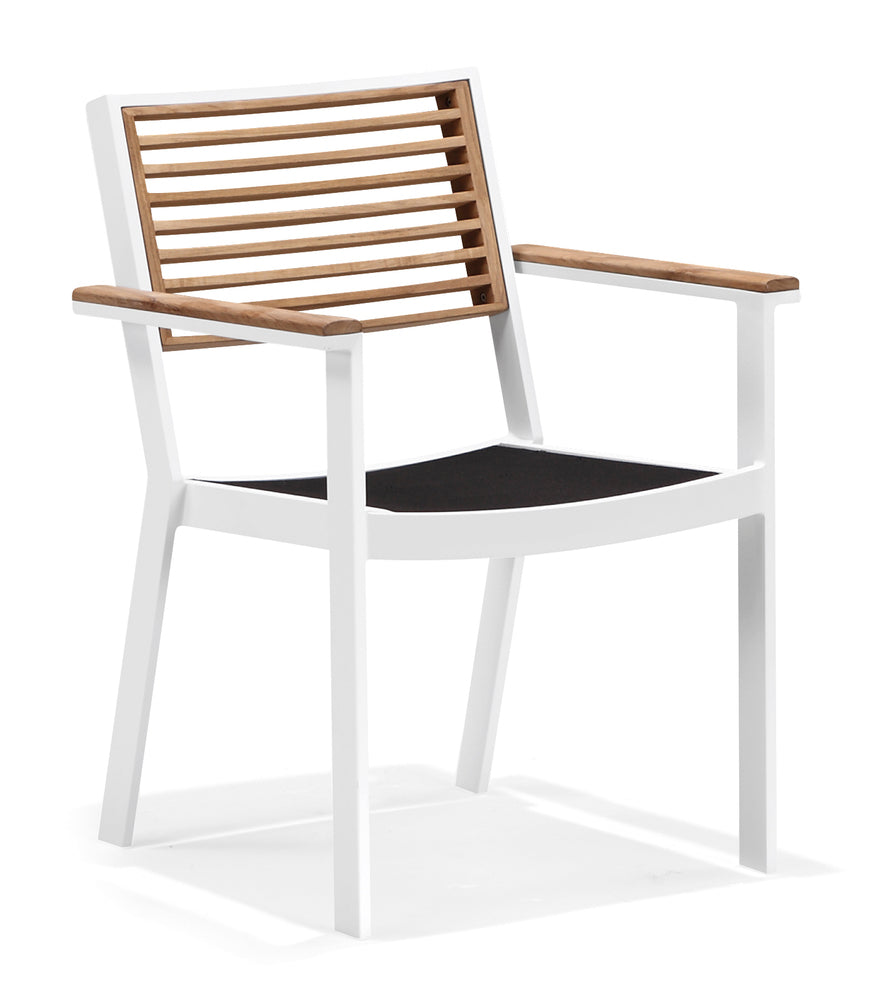 Bocage Dining Arm Chair White