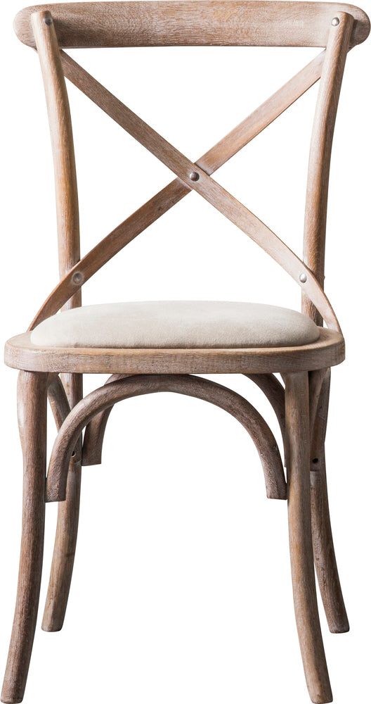 Long Island Cafe Chair Pair Natural