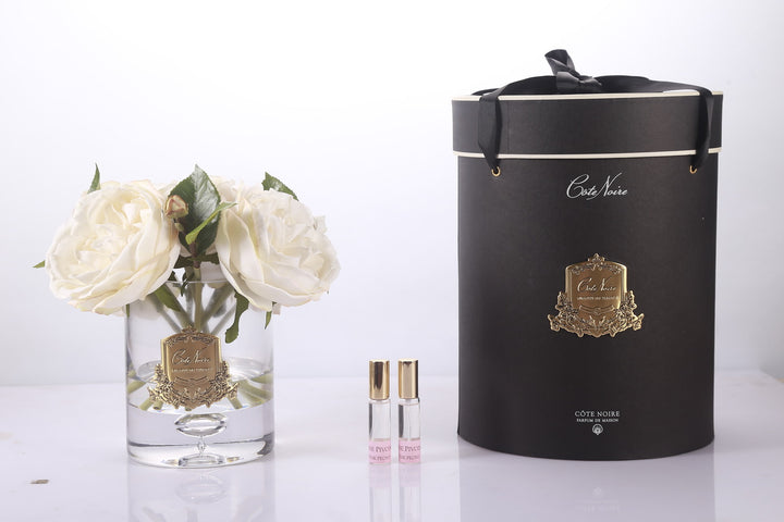 Cote Noire Peonies Champagne