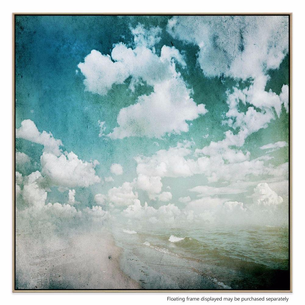 Sea Change Canvas Print with Floating Frame