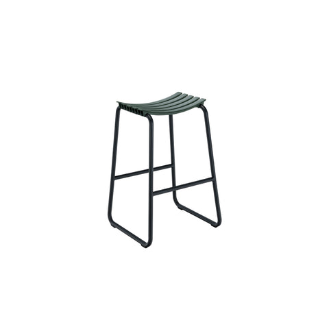 Clips Bar Stool Pine Green