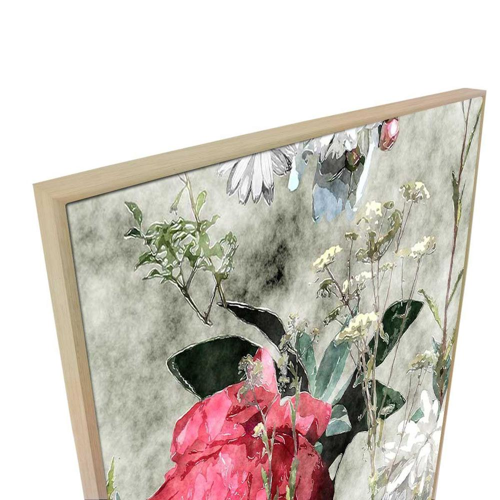 Stiletti Canvas Print with Floating Frame