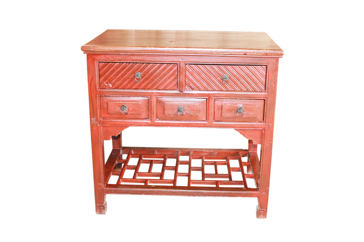 Beijing 5 Drawer Chest/Console