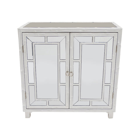 Boyd 3 Drawer Bedside Chest White