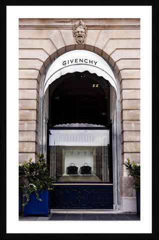 Givenchy Store Photographic Framed Print