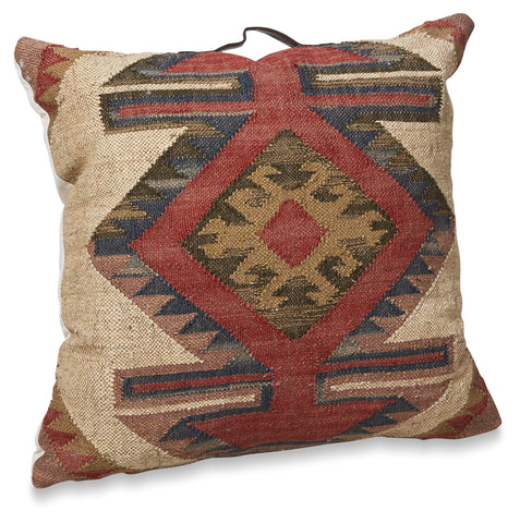 Diamond Kilim Low Stool
