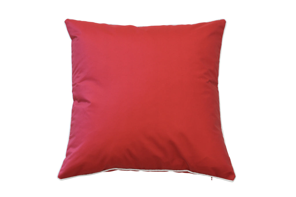 St Malo Indoor/Outdoor Cushion Red